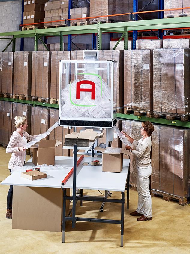Luftpolstermaschinen und Systemlösungen von Airworks